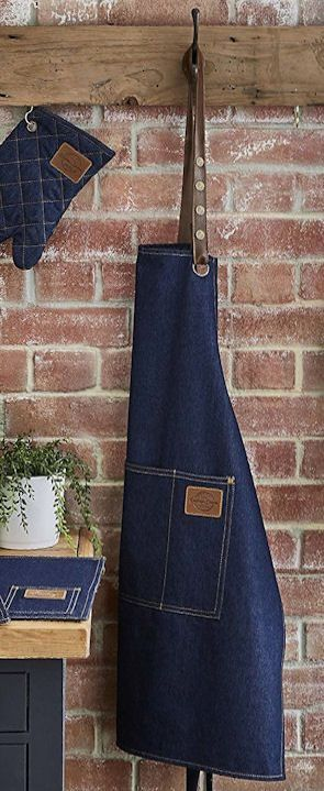 Cooksmart ~ VINTAGE DENIM ~ APRON