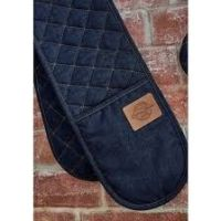 Cooksmart ~ VINTAGE DENIM ~ DOUBLE OVEN GLOVE
