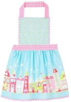 Childs Cotton Apron ~ Home Sweet Home by ULSTER WEAVERS