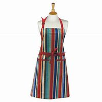 Sterck London ~ Standard Waikiki Full Adult size Apron, Multi-colour Stripes