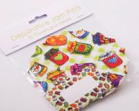 Jam Pot Covers (10 per pack) ~ Easybake Jampots with Labels