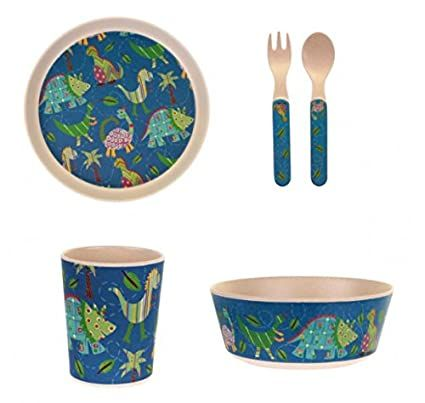 ULSTER WEAVERS CHILDRENS BAMBOO DINNER SET
