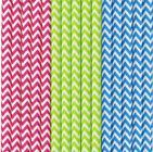 BIODEGRADABLE PAPER STRAWS 20CM ~ PACK OF 50