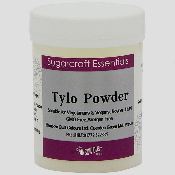 Tylo Powder (Tylose) 50g ~ Rainbow Dust Sugarcraft Essentials