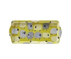 Ulster Weavers Dotty Sheep Small Rectangular Tray