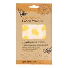 Tala 3 pack Beeswax Food Wraps Assorted
