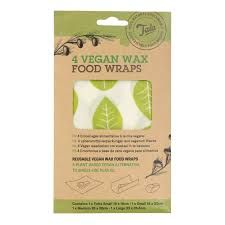 Tala Pack of 4 Vegan Wax Food Wraps