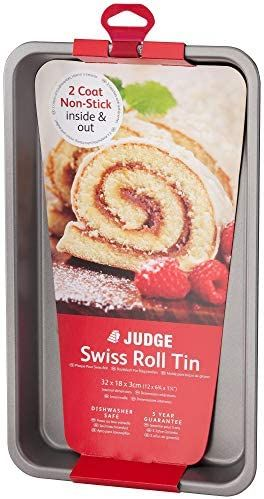 Judge Swiss Roll Tin ~ 32 x18 x 3cm