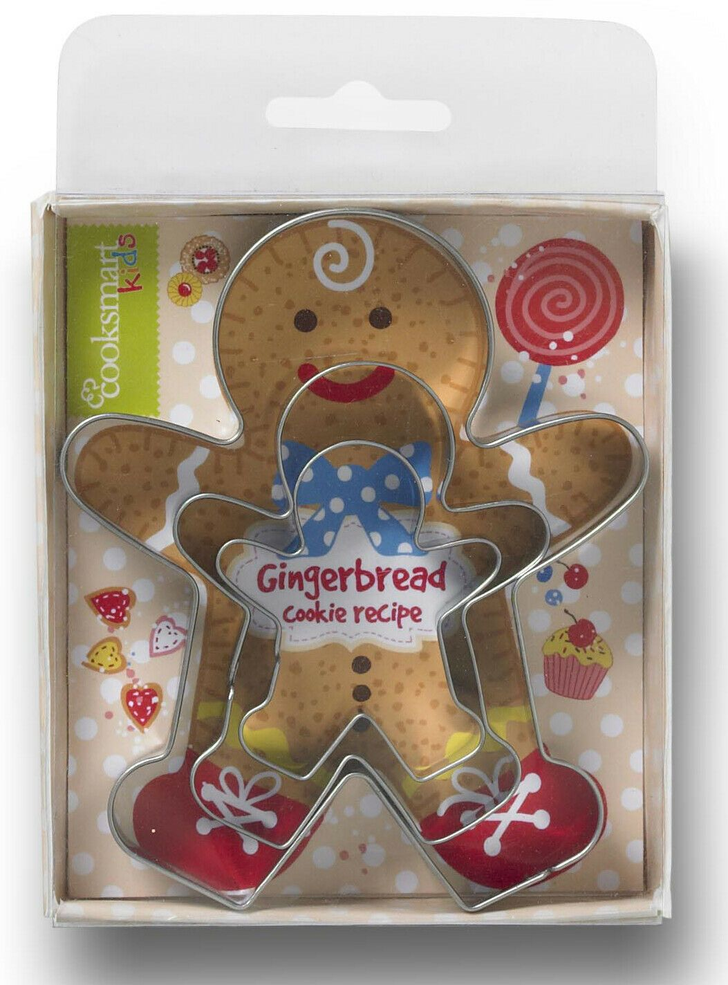 3 Piece Gingerbread Cookie Cutter Set
