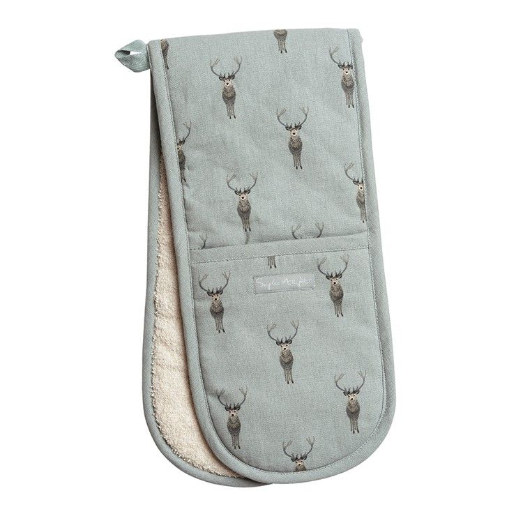 Sophie Allport Highland Stag Double Oven Glove
