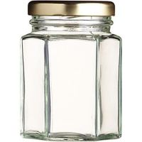 Jam Jar Hexagonal 12oz (Hex12)