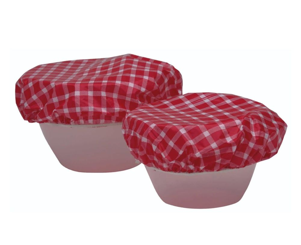 Elasticated Food Bowl Covers ~ Set of 7