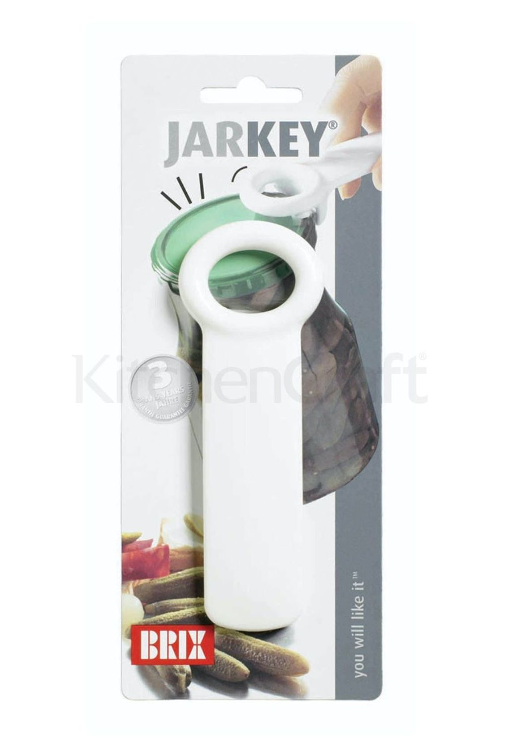 Jarkey ~ by KitchenCraft ~ Lever action jar opener