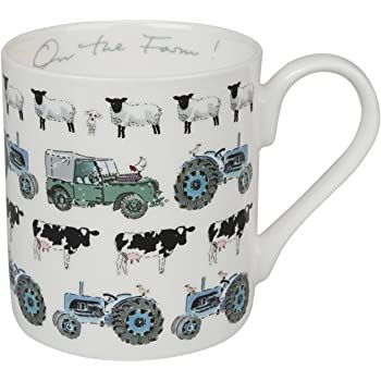 Sophie Allport ~ On the Farm ~ Fine Bone China Mug ~ Standard size