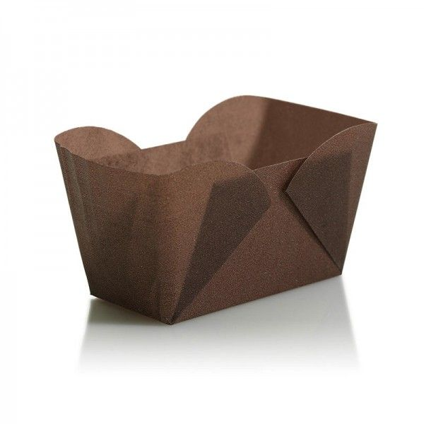 Easybake Mini Loaf Cases Chocolate Brown ~ pack of 24