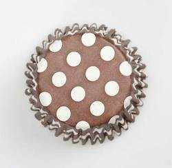 Chocolate Spot Cupcake Cases (54 Piece)