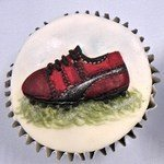 Karen Davies Cupcake Top - Golf Shoe / Football Boot Mould