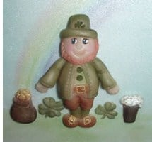 Karen Davies Leprechaun Mould