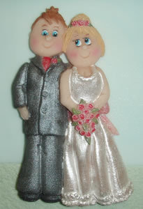 Karen Davies Bride & Groom Mould