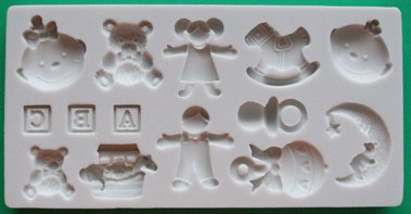 Alphabet Moulds - Nursery