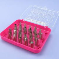 Piping Nozzle Tip & Brush Set (26 Pcs)