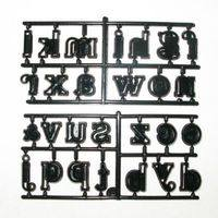 Patchwork Cutter - Large Alphabet Set - Lower Case