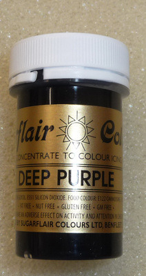 Sugarflair Paste Colour Deep Purple
