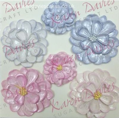 Karen Davies Dahlia Flower Mould