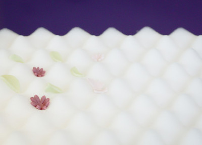 PURPLE CUPCAKES - Foam Flower Drying Pad