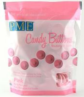 PME Candy Buttons PINK 340g 12oz