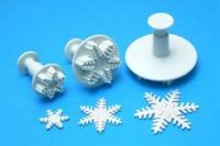 PME SNOWFLAKE CUTTERS ~ SET OF 3 SIZES ~ GENUINE