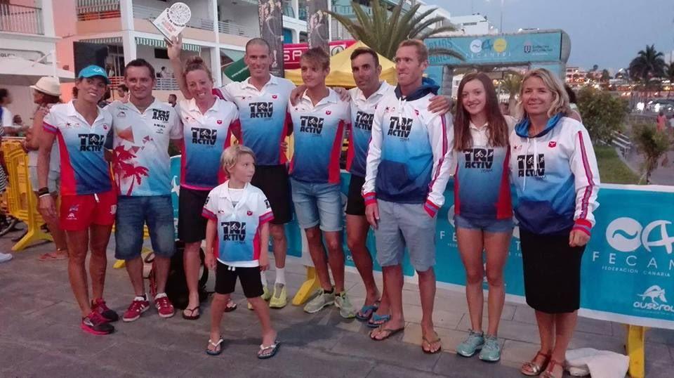 Triactiv team after Puerto Naos (002)