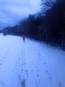Snow on the Pilgrim