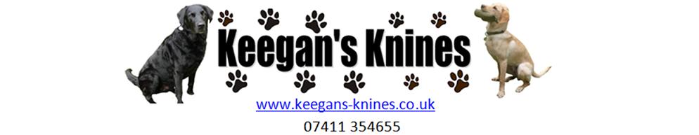Keegan's Knines, site logo.