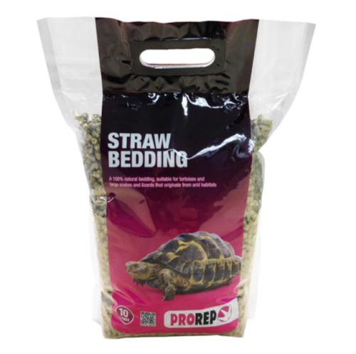 Straw pellet bedding