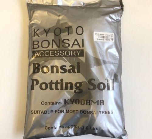 Bonsai potting soil