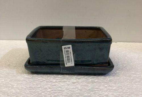Bonsai pot with tray