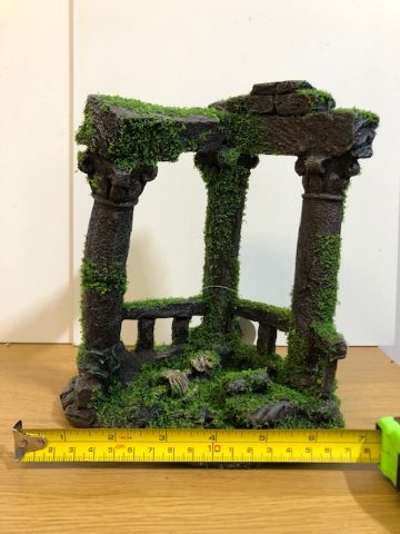 Ancient ruins with moss