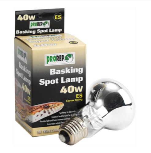 40W ES CLEAR Spot Lamp