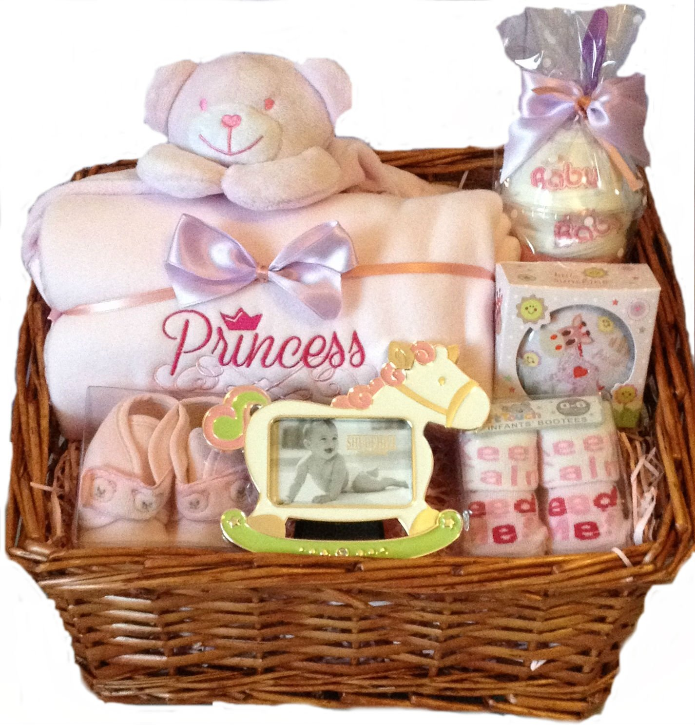Baby Gift Baskets Rockhampton : Baby girl hamper small new gifts at churchtown