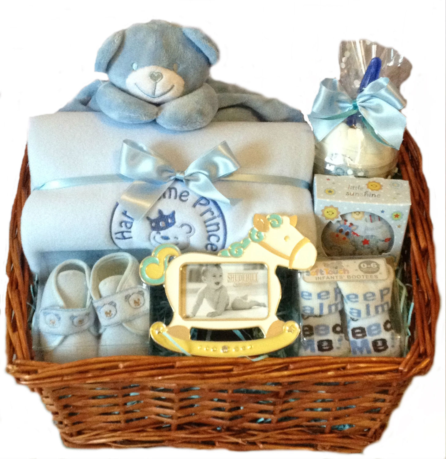 New Baby Boy Gifts For Delivery : Baby boy gift hamper new for delivered