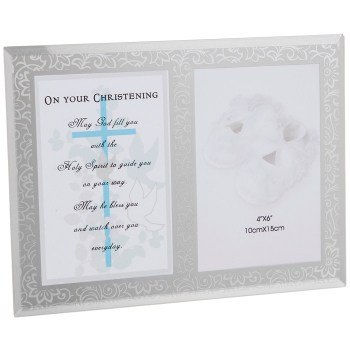 Christening Day Verse Frame (Boy)