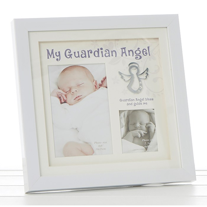 My Guardian Angel Photo Frame Christening Gifts At Churchtown Gifts