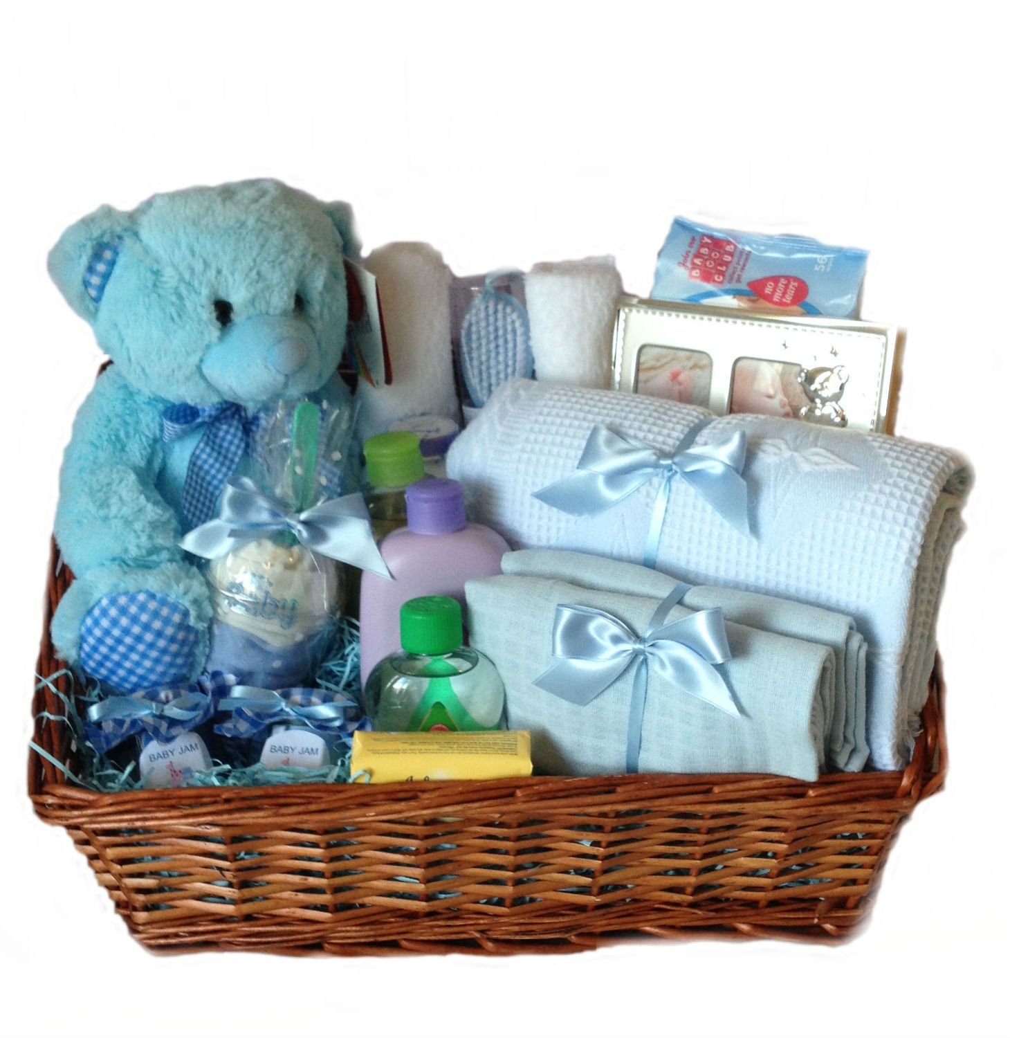 New Baby Boy Gifts For Delivery : Baby hamper new gift boy napy cake