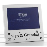 Nan and Grandad Photo Frame