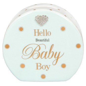 Mad Dots Baby Boy Money Box