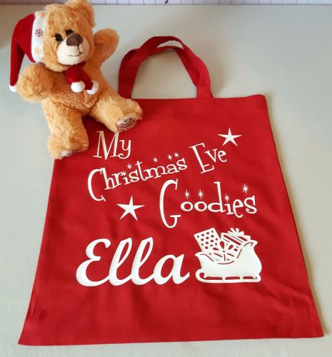 Personalised Christmas Eve Bag - Churchtown Gifts Ireland