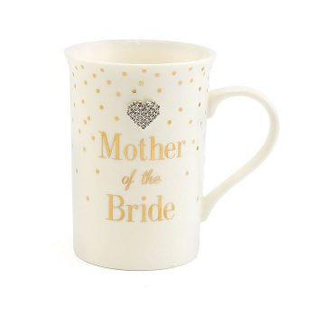 Mad Dots Mother of the Bride Mug