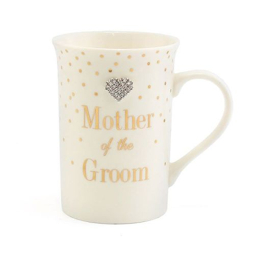 Mad Dots Mother of the Groom Mug