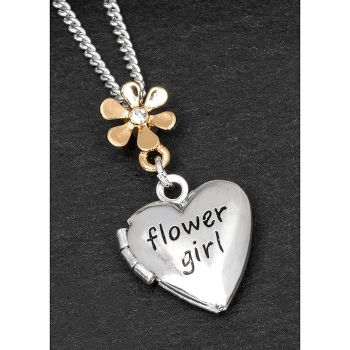 Equilibrium Flower Girl Necklace